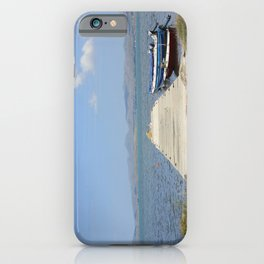 By The Boats iPhone Case