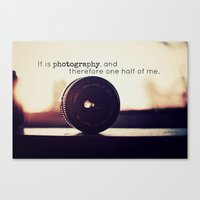 tool Canvas Prints featuring Photographer's Tool  by Jo Bekah Photography