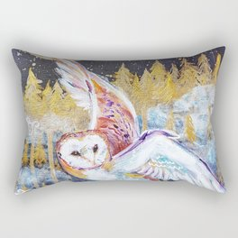 Barn Owls Rectangular Pillow
