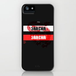 3RACHA DYNASTY iPhone Case
