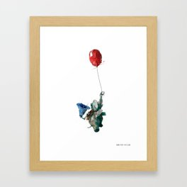 Grammophant Framed Art Print