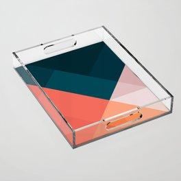 Geometric 1708 Acrylic Tray