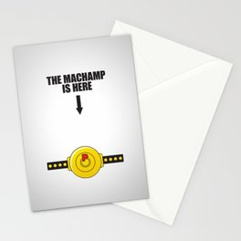 The MACHAMP is HERE! Stationery Cards