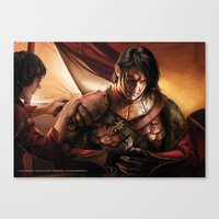 "martell Canvas Prints featuring Oberyn Martell ""A Song of Ice and Fire"" ( A Game of Thrones ) by Magali Villeneuve"