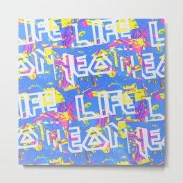 Neon Life! Metal Print