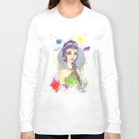 princess Long Sleeve T-shirts featuring Princess by Lagoonartastic