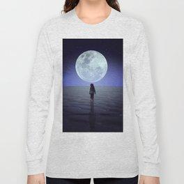 Moon alk Long Sleeve T-shirt