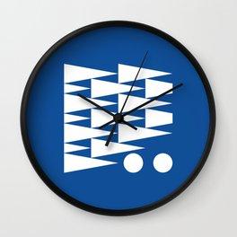 Geometric Calendar (February) Wall Clock