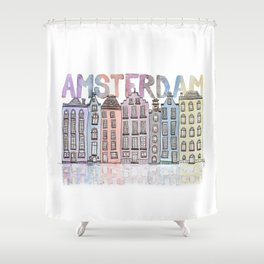 AMSTERDAM Shower Curtain