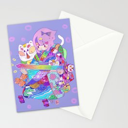 Rainbow sword -Nekoneko Stationery Cards
