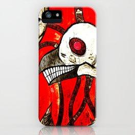 Lost skin iPhone Case
