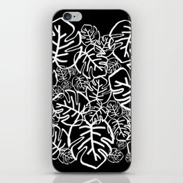 Black Palms iPhone Skin