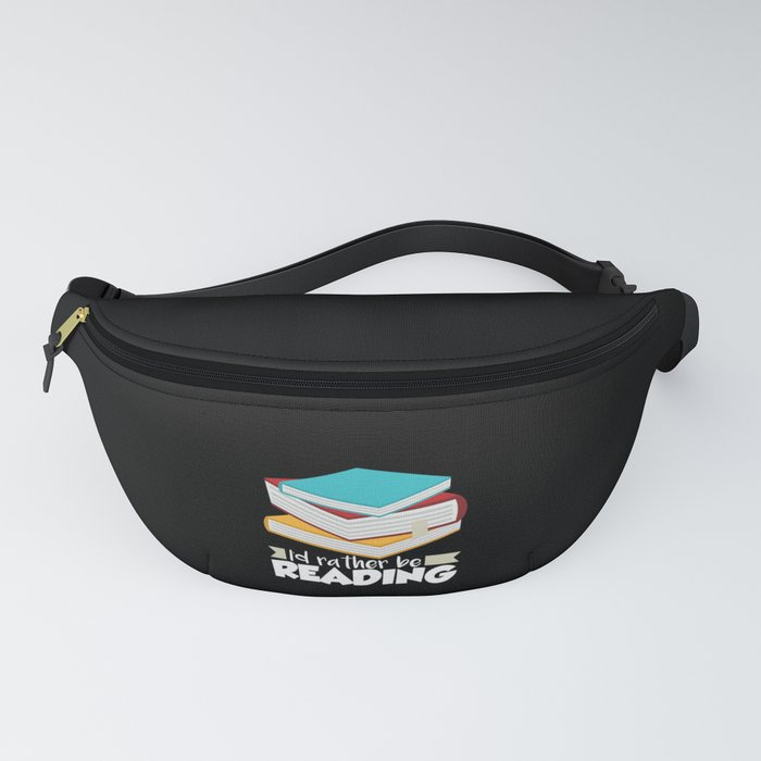 Book Worms - I'd rather be reading Fanny Pack