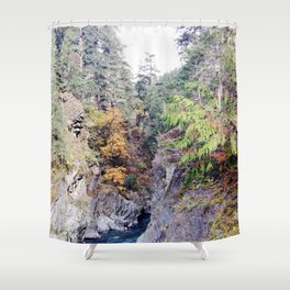 Elwha River - Olympic National Park Shower Curtain