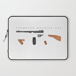 Thompson Machine Gun Laptop Sleeve