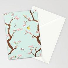 Jenny Chinoiserie on mint Stationery Cards
