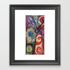 My guitar gently weeps Framed Art Print
