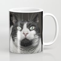 kitty Mugs featuring Kitty Cat by Joao Bizarro