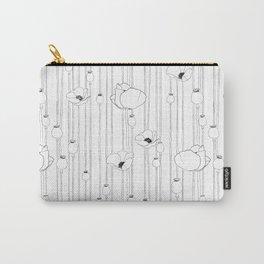 Poppy Sketch Carry-All Pouch
