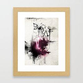 Black Rat Framed Art Print