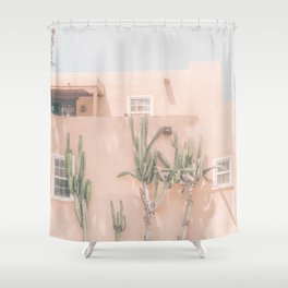 Vintage Los Angeles Shower Curtain