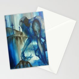 The Blue Giant Stationery Cards
