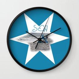 Sea Shore Wall Clock