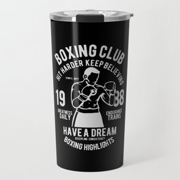 boxing club Travel Mug