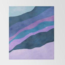 Stratum 7 Violet Breeze Throw Blanket