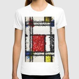 Mondrian with a twist T-shirt
