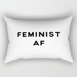 Feminist AF Aesthetic Rectangular Pillow