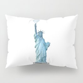 Statue of Liberty with Tennis Racquet Pillow Sham