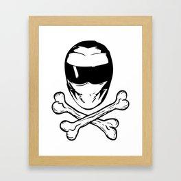 Stig and Crossbones Framed Art Print
