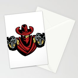 Outlaw Cowboy Stationery Cards