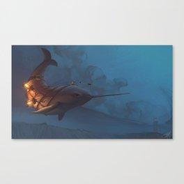 Lovløs Canvas Print