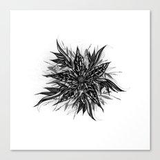 GR1N-FL0W3R (Grin Flower) Canvas Print