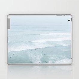 Tiny Surfers from the Sky, Lima, Peru Laptop & iPad Skin