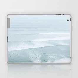 Tiny Surfers from the Sky, Lima, Peru Laptop & iPad Skin