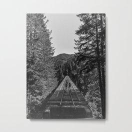 Vance Creek Bridge, Shelton, WA Metal Print