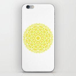 Mandala 12 / 3 eden spirit yellow iPhone Skin