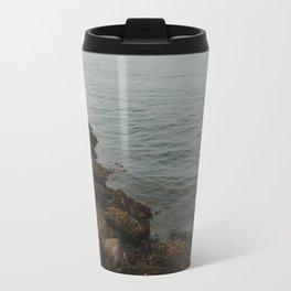 Foggy Ocean Travel Mug