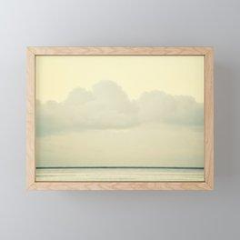 White Wall Framed Mini Art Print