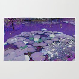 Purple Lake Dreaming Rug