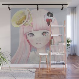 Slow Spring 2.0 Horn Wall Mural