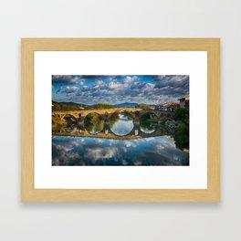 Bridge of Reflections Framed Art Print