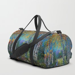 Nocturne Blue - Palette Knife Duffle Bag