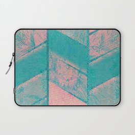 370 12 Pink and Blue Laptop Sleeve