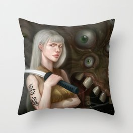 Demon Slayer Throw Pillow