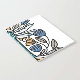 Dragonfly tile Notebook
