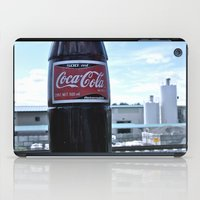 coke iPad Cases featuring Industrial Coke by Vorona Photography